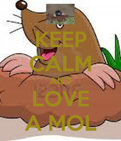 Poster: KEEP CALM AND LOVE A MOL