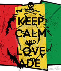 Poster: KEEP CALM AND LOVE ADE