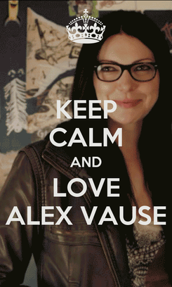 Poster: KEEP CALM AND LOVE ALEX VAUSE