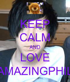 Poster: KEEP CALM AND LOVE AMAZINGPHIL