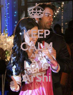 Poster: KEEP CALM AND Love ArShi