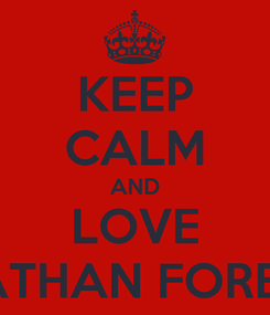 Poster: KEEP CALM AND LOVE AYATHAN FOREVER