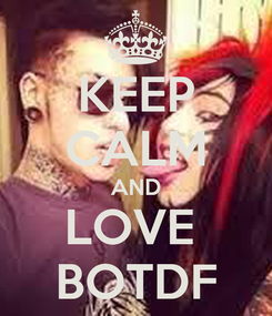 Poster: KEEP CALM AND LOVE  BOTDF