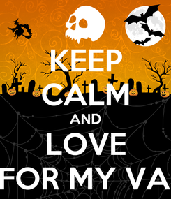 Poster: KEEP CALM AND LOVE BULLET FOR MY VALENTINE