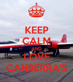 Poster: KEEP CALM AND LOVE CANBERRA'S