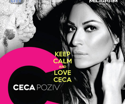 Poster: KEEP CALM AND LOVE CECA