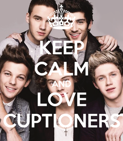 Poster: KEEP CALM AND LOVE CUPTIONERS