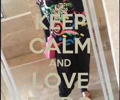 Poster: KEEP CALM AND LOVE DADO