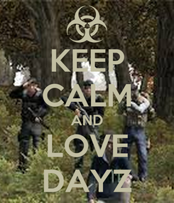 Poster: KEEP CALM AND LOVE DAYZ