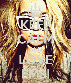 Poster: KEEP CALM AND LOVE EMSI