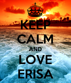 Poster: KEEP CALM AND LOVE ERISA