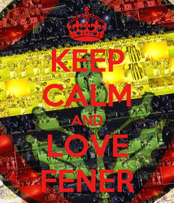 Poster: KEEP CALM AND LOVE FENER