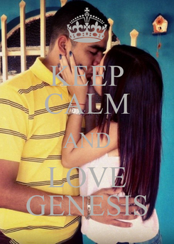Poster: KEEP CALM AND LOVE GENESIS