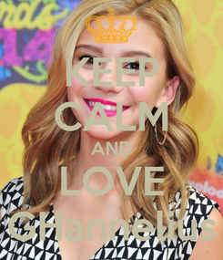Poster: KEEP CALM AND LOVE GHannelius
