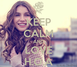 Poster: KEEP CALM AND LOVE H.O.A