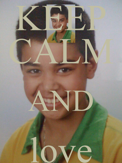 Poster: KEEP CALM AND love hoessein