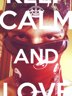 Poster: KEEP CALM AND LOVE JOEY