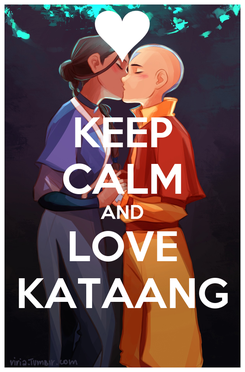 Poster: KEEP CALM AND LOVE KATAANG