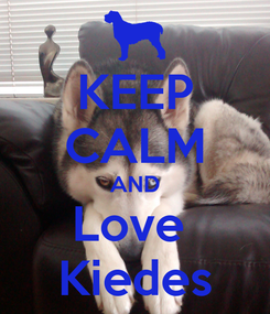 Poster: KEEP CALM AND Love  Kiedes