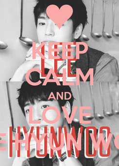 Poster: KEEP CALM AND LOVE LEE HYUN WOO
