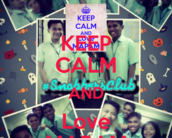 Poster: KEEP CALM AND Love MAPAM