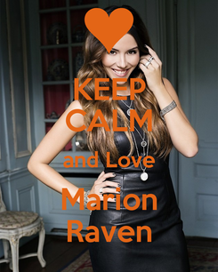 Poster: KEEP CALM and Love Marion Raven