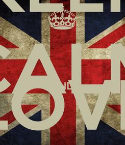 Poster: KEEP CALM AND LOVE MIDAH