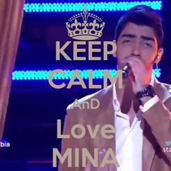 Poster: KEEP CALM AnD Love MINA