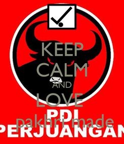 Poster: KEEP CALM AND LOVE   pakhri made