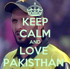 Poster: KEEP CALM AND LOVE  PAKISTHAN