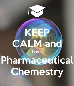 Poster: KEEP CALM and Love Pharmaceutical Chemestry