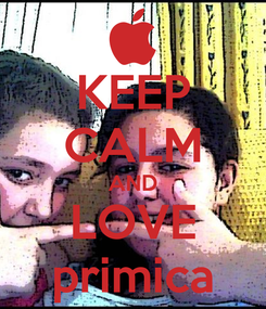 Poster: KEEP CALM AND LOVE primica