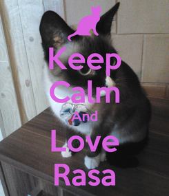 Poster: Keep Calm And Love Rasa