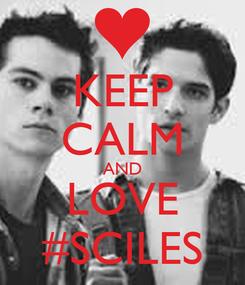 Poster: KEEP CALM AND LOVE #SCILES
