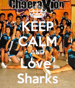 Poster: KEEP CALM AND Love  Sharks