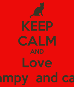 Poster: KEEP CALM AND Love Stampy  and cake