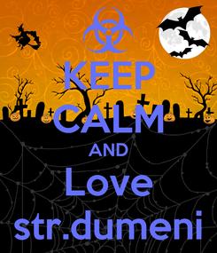Poster: KEEP CALM AND Love str.dumeni