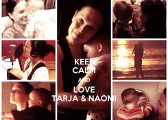Poster: KEEP CALM AND LOVE TARJA & NAOMI