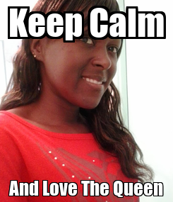 Poster: Keep Calm And Love The Queen