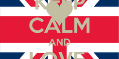 Poster: KEEP CALM AND LOVE  TREJSI