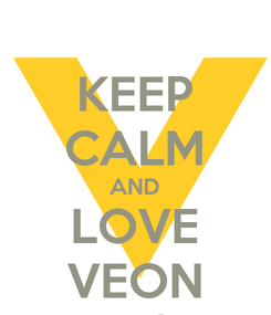 Poster: KEEP CALM AND LOVE VEON