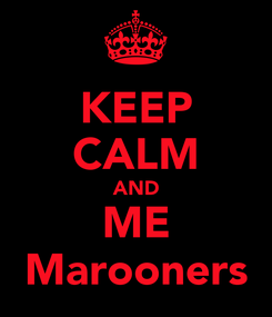 Poster: KEEP CALM AND ME Marooners