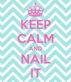 Poster: KEEP CALM AND NAIL IT