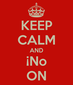 Poster: KEEP CALM AND ¡No ON