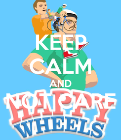 Poster: KEEP CALM AND NOT CARE