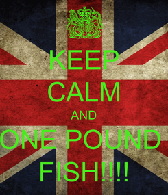 Poster: KEEP CALM AND ONE POUND  FISH!!!!