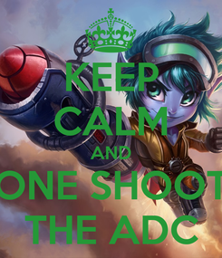 Poster: KEEP CALM AND ONE SHOOT THE ADC