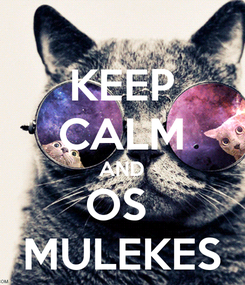 Poster: KEEP CALM AND OS  MULEKES