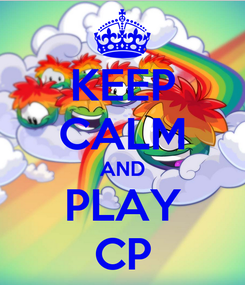 Poster: KEEP CALM AND PLAY CP