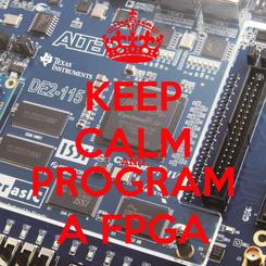 Poster: KEEP CALM AND PROGRAM A FPGA
